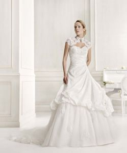 Taffeta Wedding Dress (JM-1213)