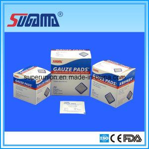 Disposable 100% Cotton Compress Gauze Sponge pictures & photos