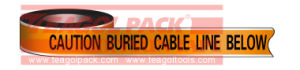 Detectable Warning Cable Line Tape pictures & photos
