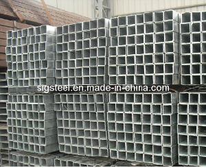 Mild Carbon Steel ERW Welded Square Pipe pictures & photos