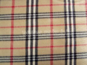 England Grid Polar Fleece Fabric pictures & photos