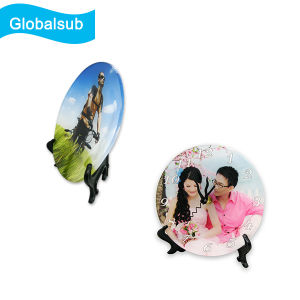Decorated Acrylic Photo Plates with Stand for Personalized Printing pictures & photos