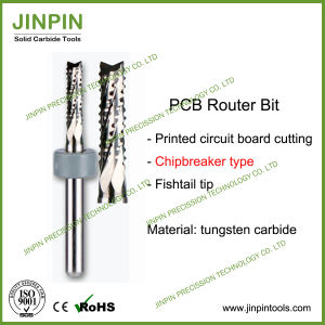 Excellent Quality Solid Carbide Chipbreaker Type PCB Router Bit pictures & photos