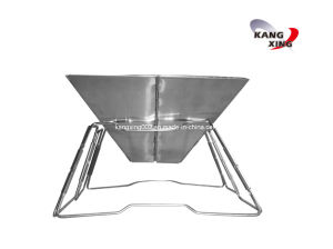 Foldable Stainless Steel Barbecue (KX-8010)