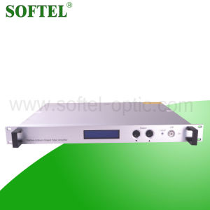 Softel 1550nm Erbium-Doped Optical Fiber Amplifier/15dB CATV EDFA Fiber Optical Signal Amplifier pictures & photos