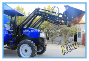 4x4 Compact Tractor with Loader, Wheeled Tractor with Front End Loader and Backhoe Attachment (TZ03D, TZ04D, TZ06D, TZ08D) pictures & photos