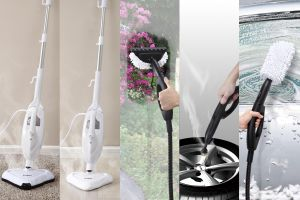 Electric Steam Cleaner with Adjustable Button (KB-2012) pictures & photos
