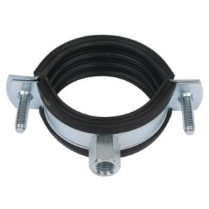Stainless Rubber Lined Pipe Saddle Clamp pictures & photos