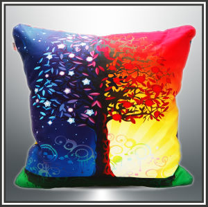 New Design Fashionable Printed Canvas Cushion pictures & photos