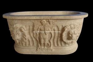 Stone Carving Bath, Bathtub, Basin, Tub (BTB305) pictures & photos