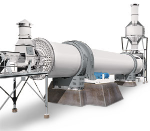 Low Energy Consumption Steam Rotary Dryer (TDGD180)