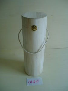 Wooden Wine Bottle Box (LH1828)