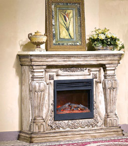 Carving Electric Fireplace (616) pictures & photos