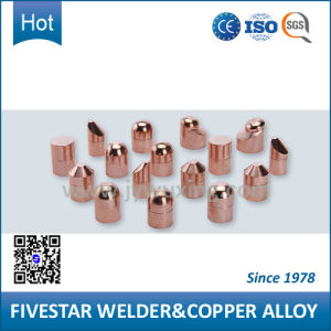 Welding Copper Caps for Resistance Spot Welding Machine with High Conductive pictures & photos