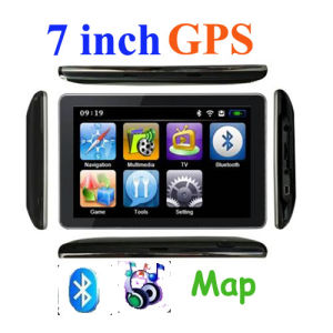 "GPS Android OS 4.11 » 7"" GPS Navigation with Bluetooth Free Igo Map"