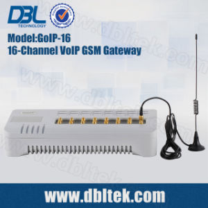 DBL16 Channels VoIP GSM Gateway GoIP16 pictures & photos