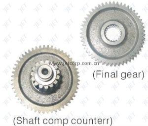 Final Gear & Shaft Comp. (152QMI-002)