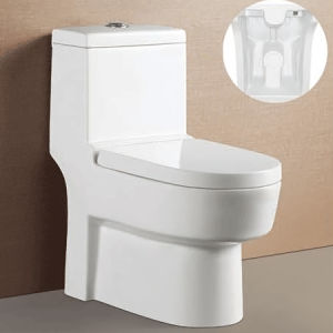 Sanitary Ware Washdown One Piece Toilet for Bathroom (ON-811)