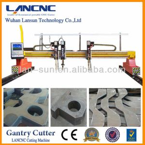 Gas Cutting Machine CNC High Definition Plasma Cutting Machine CNC Flame and Plasma Cutter