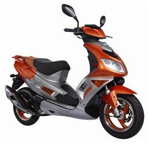 Gas Scooter (YL50QT-38) pictures & photos