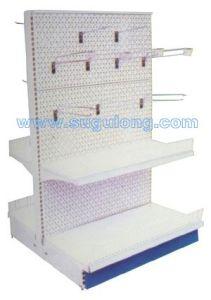 Perforated Backpanel Shelf