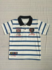 Single Jersey Kids Polo Shirt in Children Clothing Sq-6257 pictures & photos