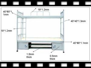 School Furniture Steel Bunk Bed (JH-S1025)