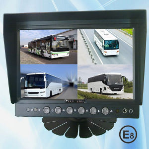 7 Inch Quad View Monitor With Four Video Input (SF-7005F)
