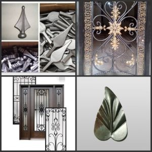 Ornaments Wrought Iron / Cast Iron Parts for Windows and Fence pictures & photos