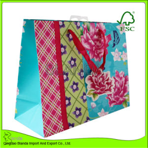 Custom Made Paper Gift Bag (DF-002)
