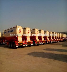2016 Factory Price Bulk Cement Trailer to Load Dry Powder pictures & photos