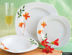 Porcelain 18PCS, 20PCS, 30PCS Dinner Set