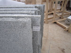 Building Material Flamed G603 Light Granite Paving for Floor/Stair pictures & photos
