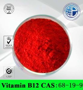 Vitamin B12 CAS: 68-19-9 Nutrition Supplement (Cyanocobalamin /Mecobalamin /Hydroxocobalamin) pictures & photos