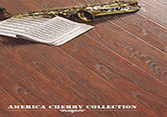 America Cherry HDF Laminated Flooring AC3 E1 Waterproof pictures & photos