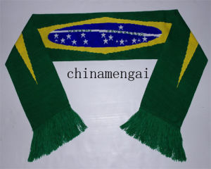 Soccer Scarf Football Scarf Soccer Fans Scarf (LJ-1010) pictures & photos