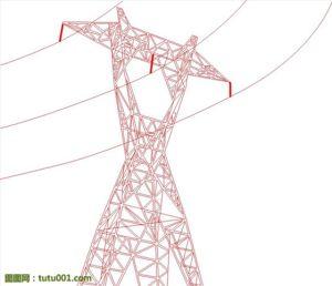 Power Plant / Angle Steel Tower / Transmission Tower / Mild Steel / Galvanized Steel (0016)