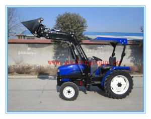 Mini Compact Garden Tractors Fit with 4in1 Front End Loader, Backhoe, Slasher pictures & photos