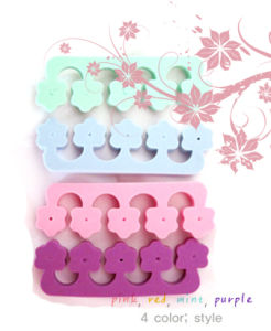 Toe Separator With Fashion Designs