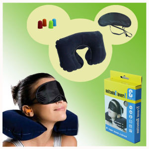 Inflatable Travel Pillow Set, Great for Travel pictures & photos