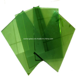 4mm-6mm Dark Green Reflective Glass-Coated Glass pictures & photos