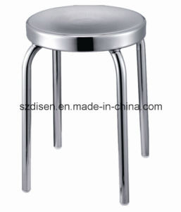 Simple Metal Stackable Counter Stool/ Stainless Steel Stool (DS-L214) pictures & photos