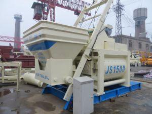 Js1500 Twin-Shaft Concrete Mixer pictures & photos