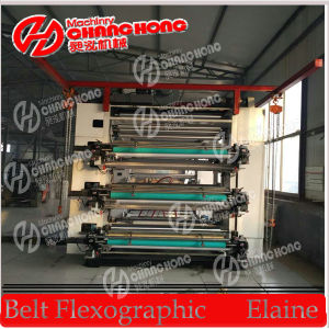 Six Colors 1.6meter Flexo Printing Machine/Flexo Printing Machine pictures & photos