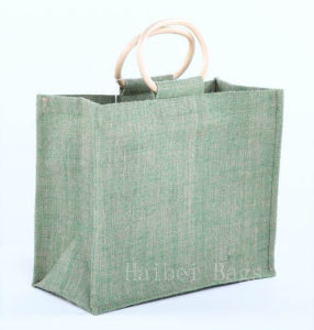 Promotional Jute Shopping Bag (hbju-67) pictures & photos