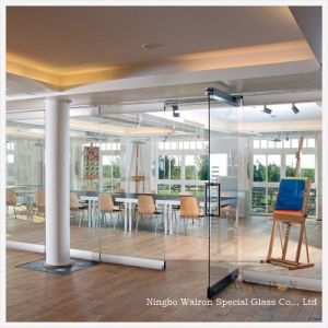 Top Quality Movable Tempered Glass Walls/Partitions For Office/Home/Hotel  Decoration