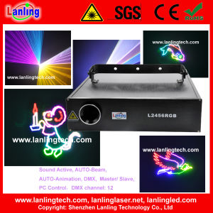 2W Multi Color Ilda Animation Stage Laser Light pictures & photos