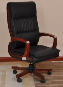 Ergonomic Design Swivel Leather Executive Manager Chair (FOH-B30-1) pictures & photos