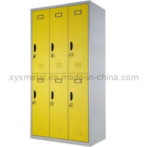 Metal Clothes Wardrobe Locker Steel 6 Door Locker Cabinet pictures & photos