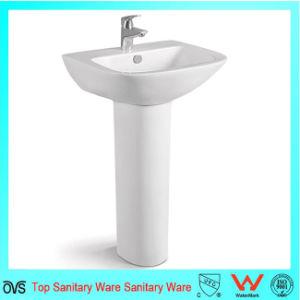Wholesale Best Price European Design Unique Pedestal Sinks pictures & photos